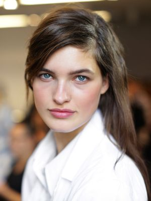 3 Game-Changing Makeup Tricks We Learned Backstage at Michael Kors