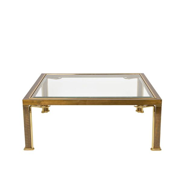 Mastercraft Brass NeoClassic Coffee Table