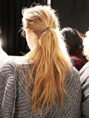 4 Fashion Week Ponytails You Can Try Tomorrow