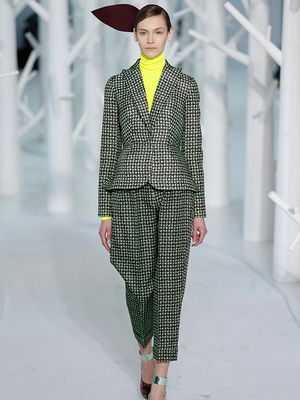 Delpozo Takes Proportion Play Literally for F/W 15