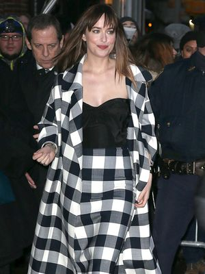 Dakota Johnson Turns Heads at 'Letterman' Appearance