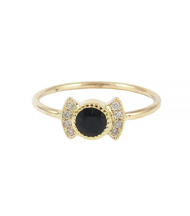 Jennie Kwon Black Diamond Deco Ring