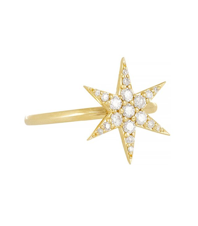 Zoe and Morgan Fine Jewelry 9-Karat Gold Diamond Ring