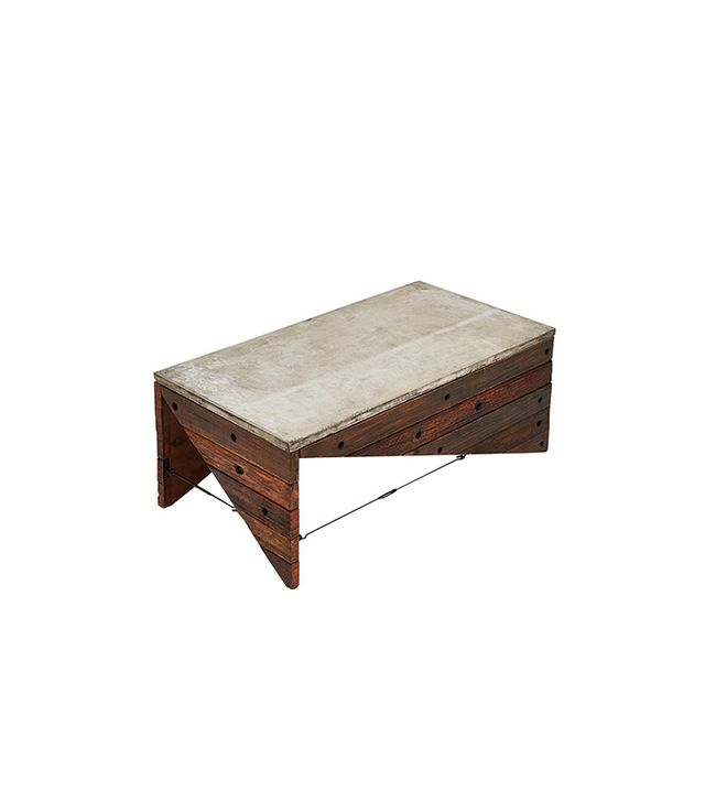 ABC Carpet & Home Edge Concrete Cocktail Table