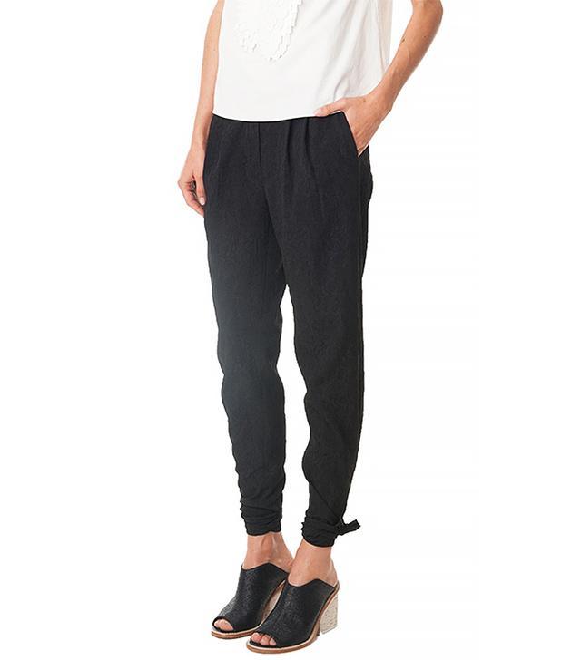 Tibi Katsu Jacquard Cropped Pants