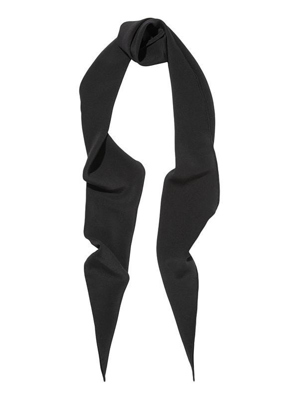 Saint Laurent Silk-Crepe Scarf