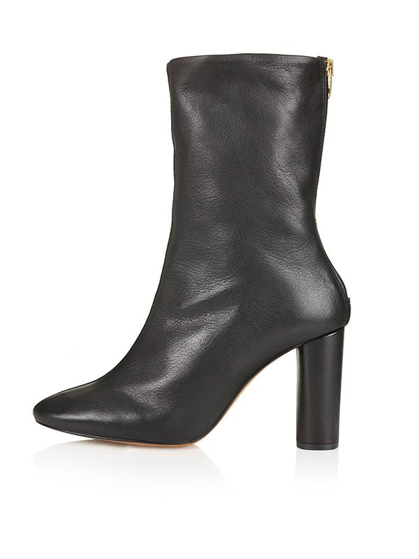 Topshop MAC Mid-Ankle Boots