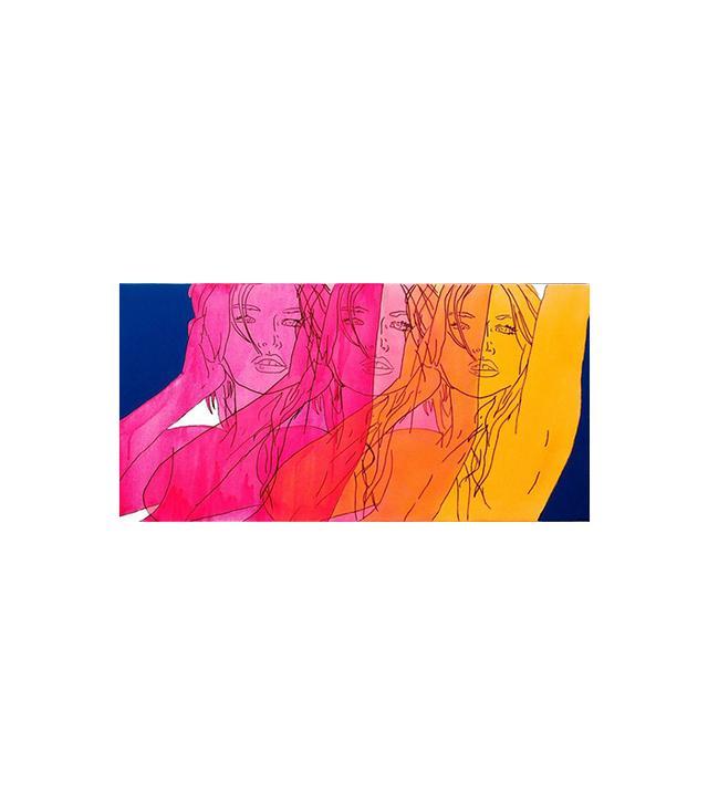 Hilary Bond Sunset, Magenta, Pink, Orange