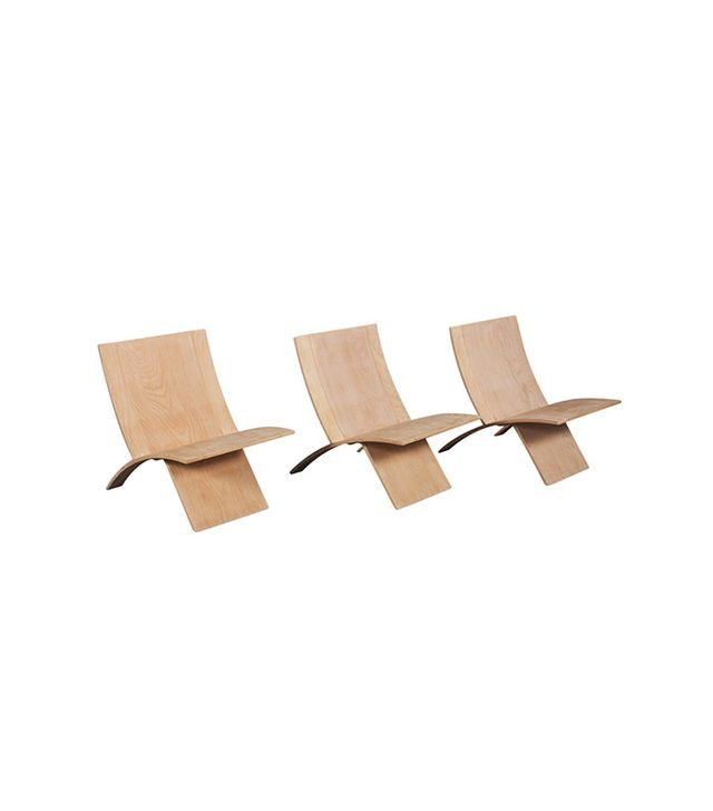 Jens Nielsen Danish Laminex Folding Chairs