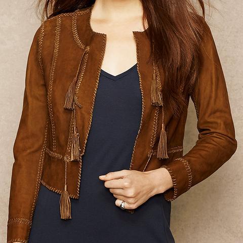 Whipstitch Nubuck Jacket