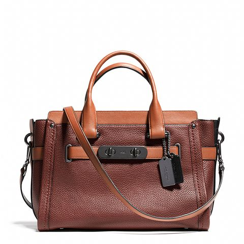 Swagger Carryall in Colorblock Leather