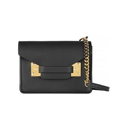 Envelope Mini Leather Shoulder Bag