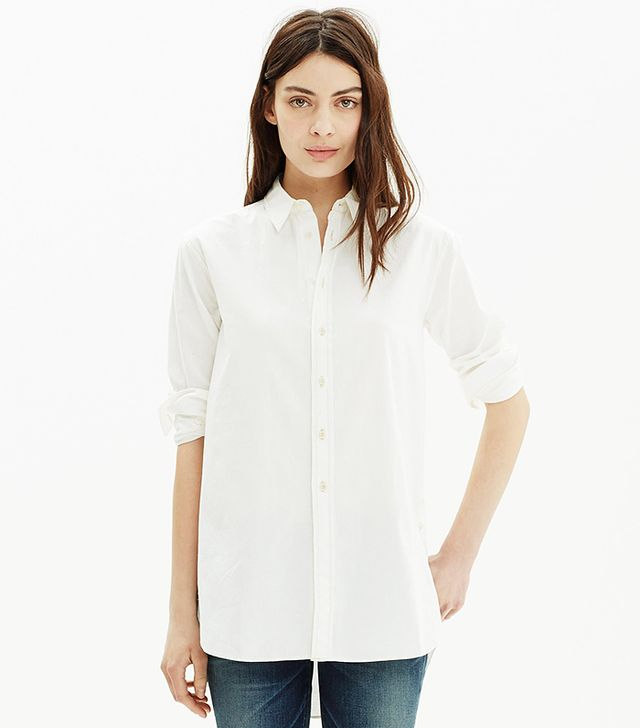 Madewell Oversized Side-Button Shirt