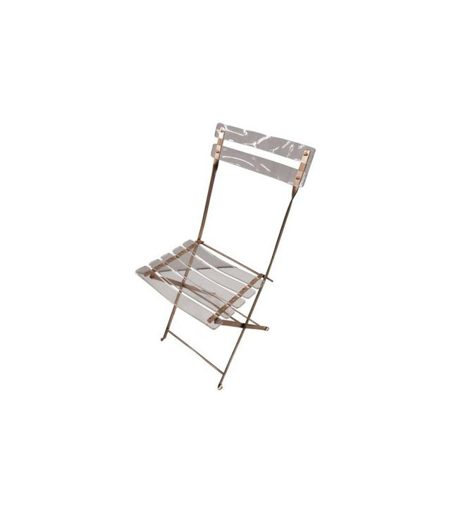 One Kings Lane Lucite Folding Chair
