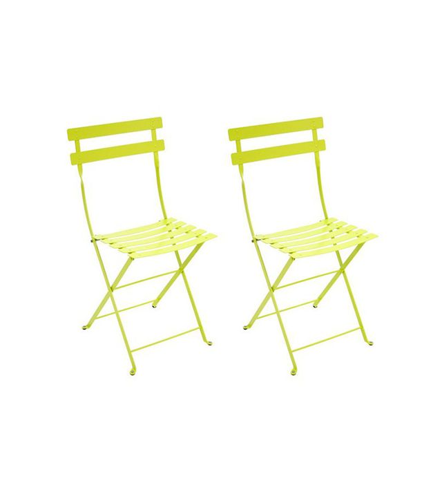 Fermob Verbena Bistro Metal Chairs (Set of 2)