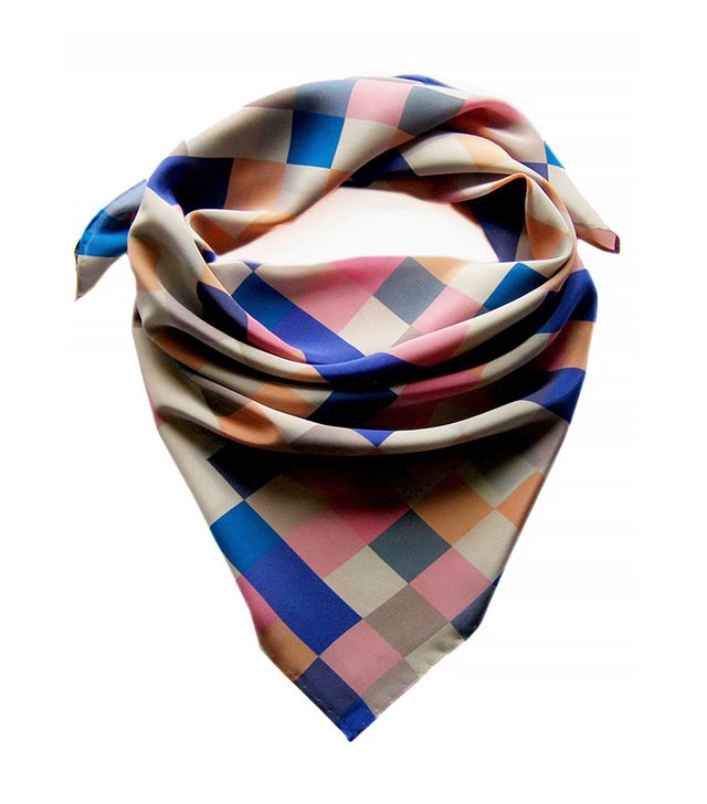 Claire Gaudion Silk Square Scarf