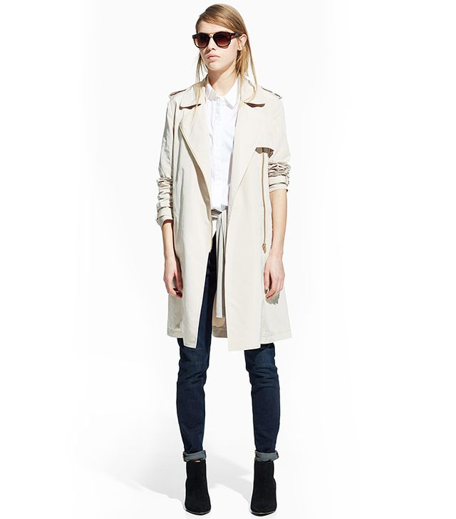 MANGO Zip Trench