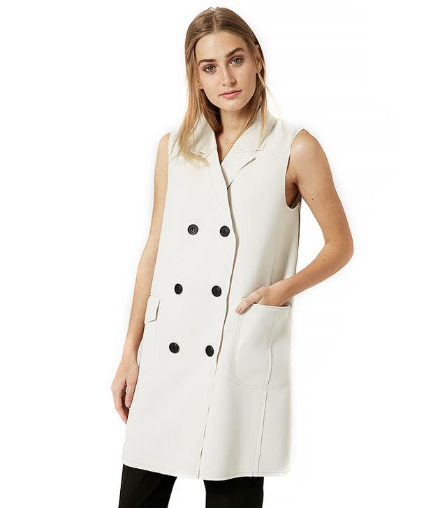 Topshop Premium Sleeveless Jacket