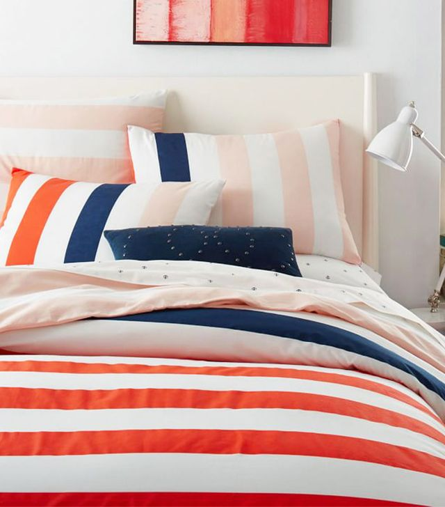 West Elm Prep Stripe Duvet Cover
