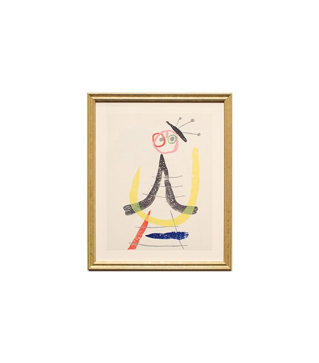"""Unsigned facsimile print from A Toute Epreuve"" by Joan Miró"