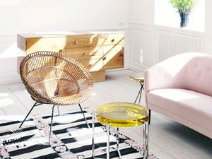 Get the Look: A Sunny Scandinavian Sitting Area