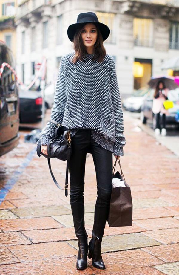 Repins:1772 Shop a similar gray sweater.