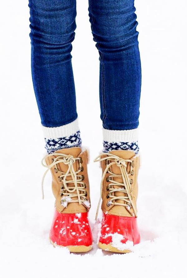 Repins:7057 Shop similar duck boots.