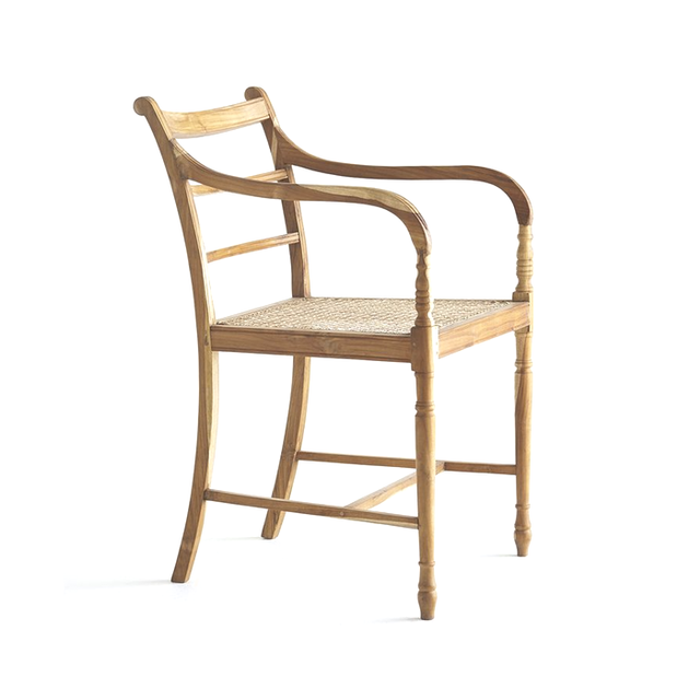 Wisteria Teak Colonial Chair