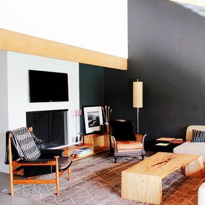 Inside a Boho Modern Beverly Hills Bungalow