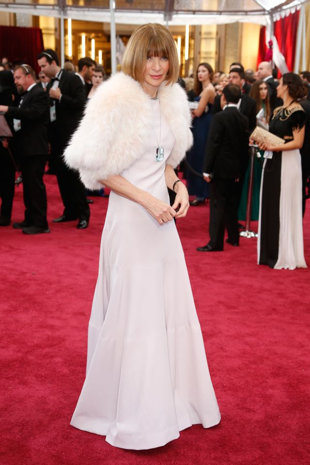 ICYMI: Anna Wintour Went to Her First Oscars Last NIght, and Wore This