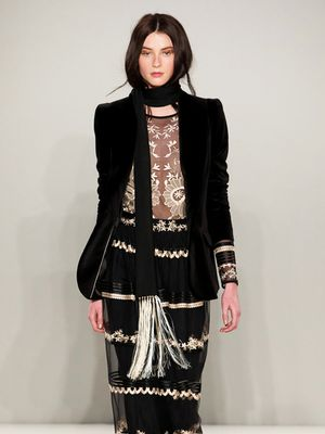 Let Temperley F/W 15 Inspire Your Next Party Look