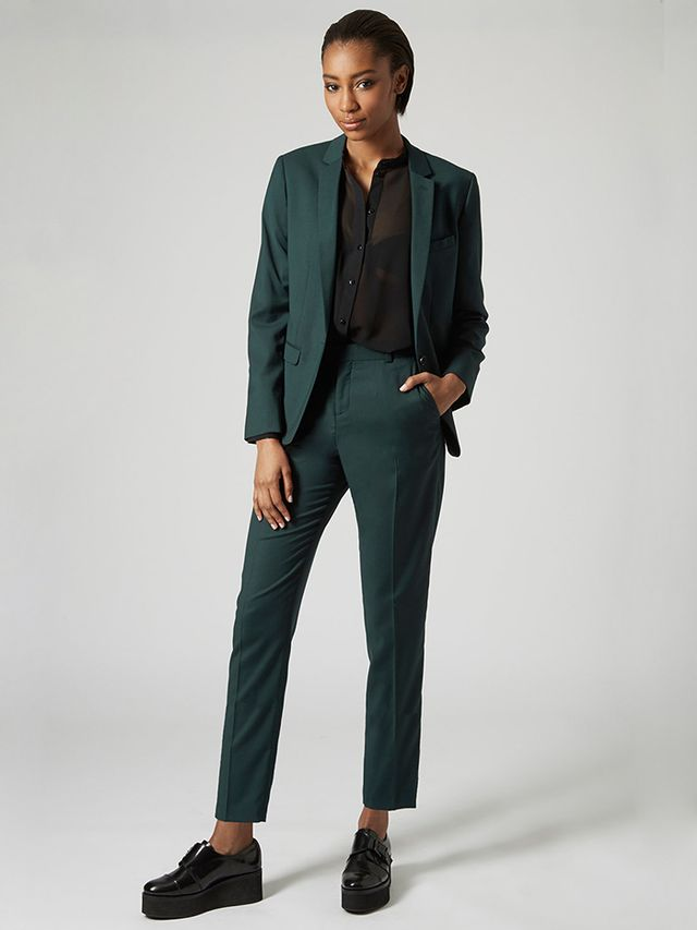 Topshop Premium Suit Blazer and Trousers