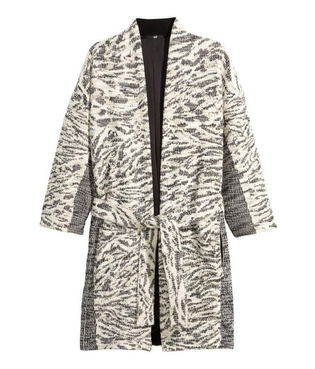 H&M Jacquard-Weave Cardigan