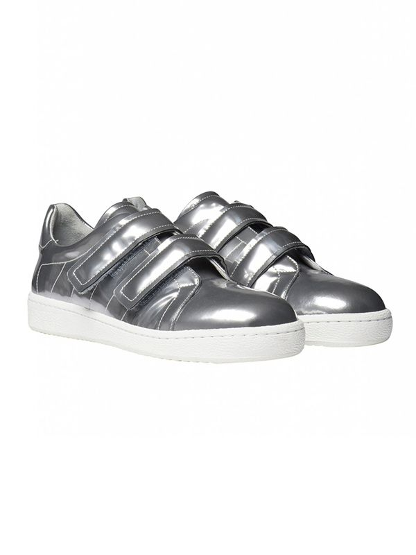 Gerard Darel Baskets Gloss-Finish Trainers