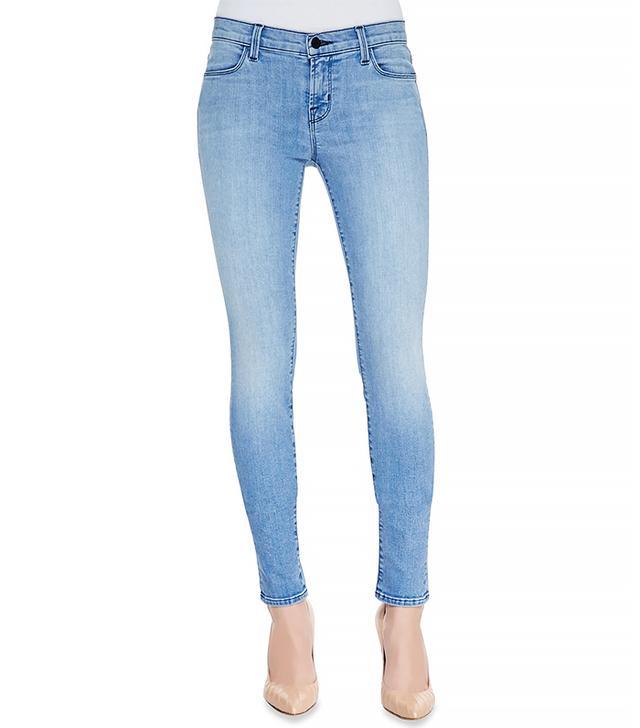 J Brand Photoready Skinny-Leg Denim Jeans