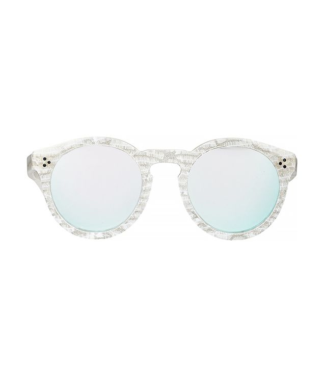 Illesteva Leonard II Sunglasses in Frost