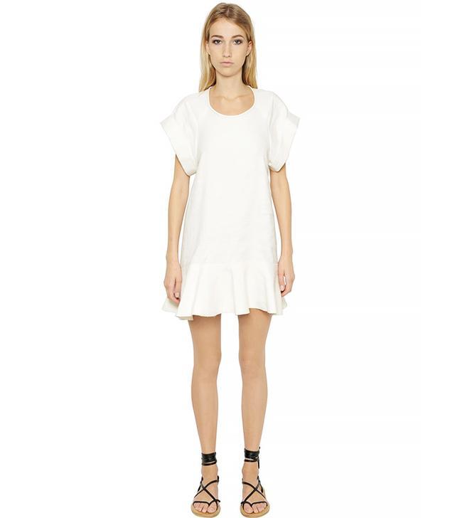 Isabel Marant Étoile Linen & Viscose Blend Bourette Dress