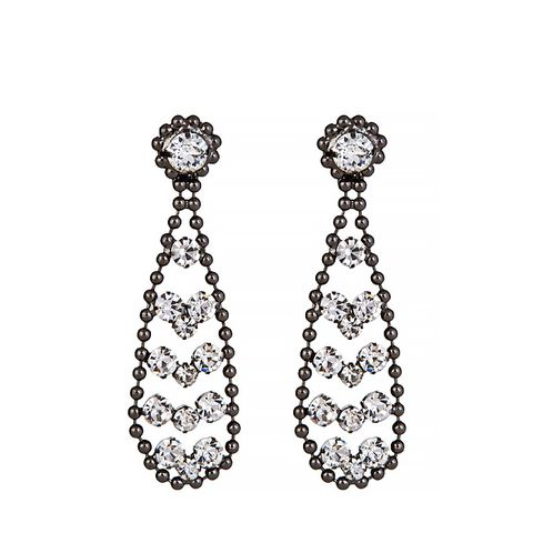 Crystal Drop Statement Earring