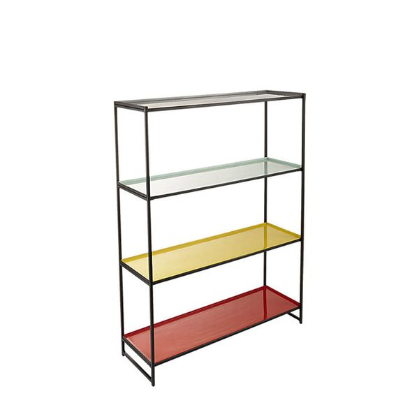 CB2 Color Block Bookcase