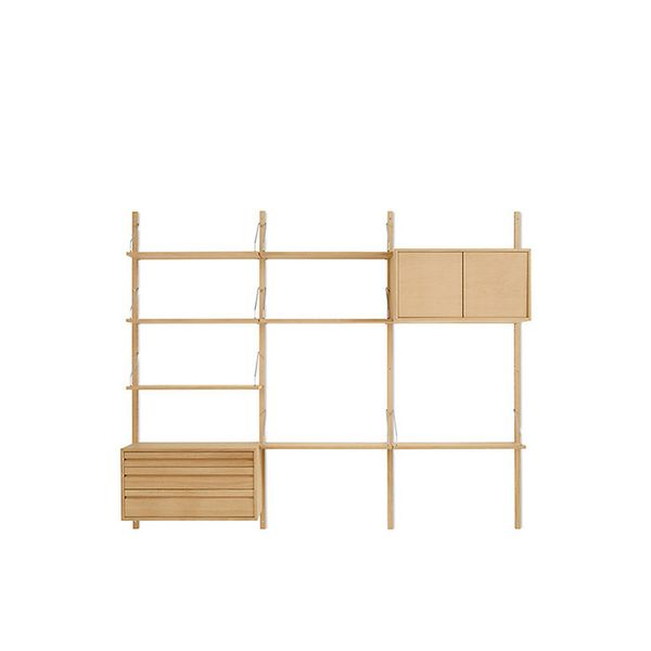 Poul Cadovius Royal System® Shelving Unit C