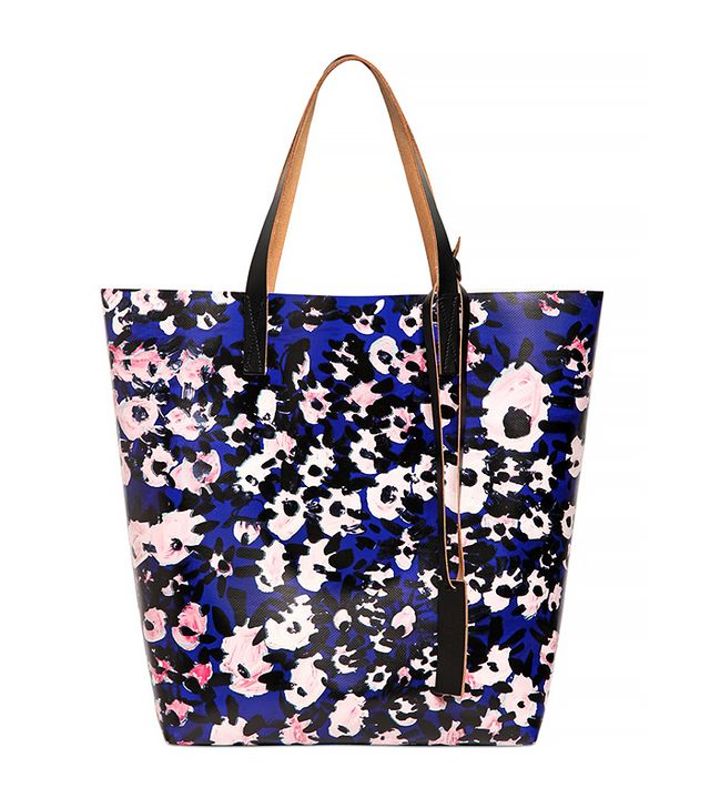 Marni Floral Printed Tote Bag
