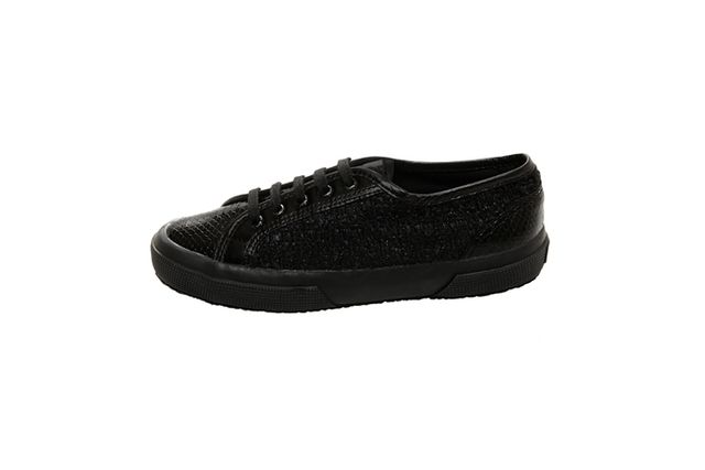 Rodarte Superga Flat Lace Up Sneakers