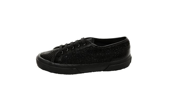 Rodarte Superga Flat Lace Up Sneakers