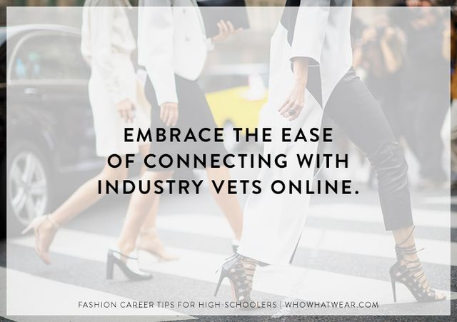 It's so easy to get in touch with people who work in the industry today that there's almost no excuse not to. You don't want to pester them, but reaching out once is perfectly...