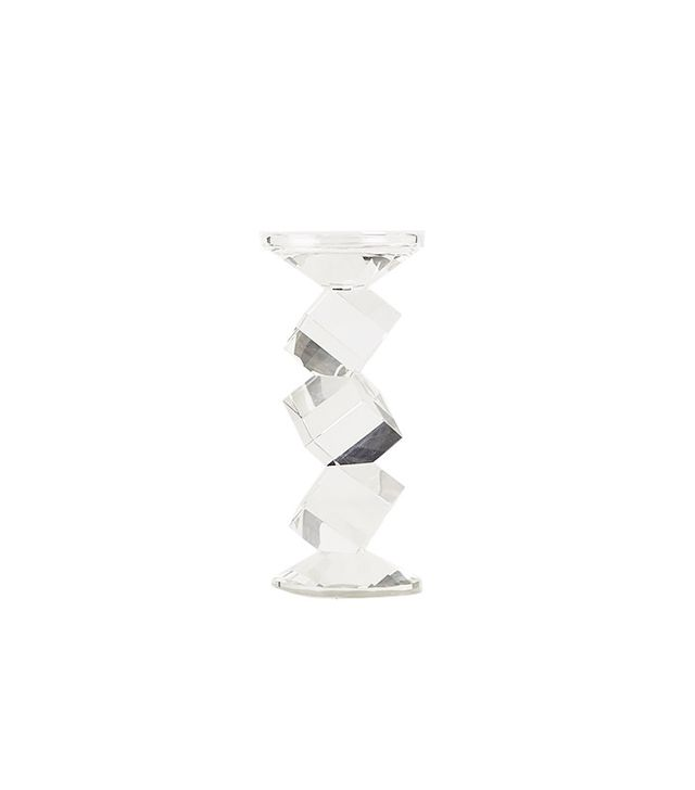 Anthropologie Crystal Ladder Candle Holders