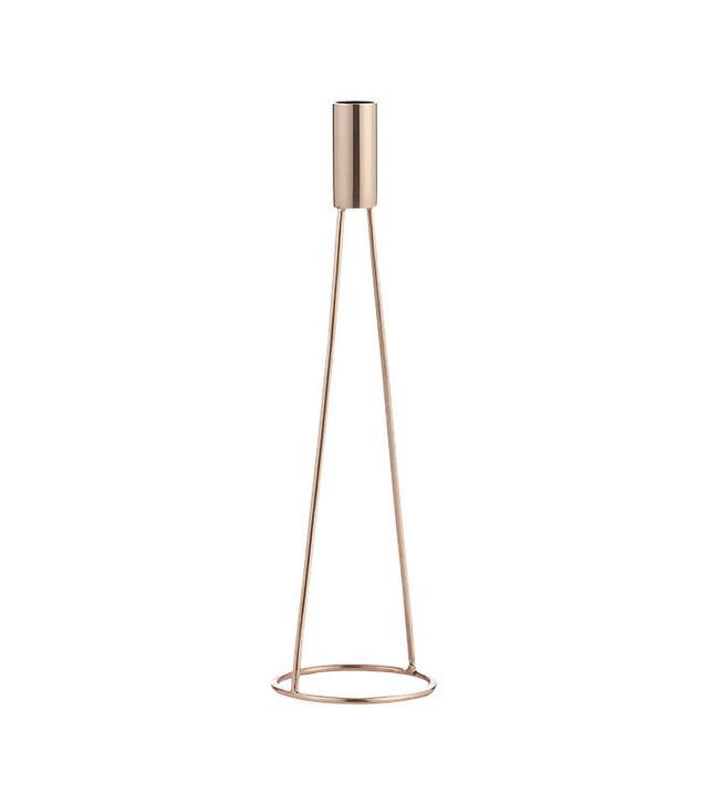 CB2 Stilt Medium Copper Candle Holder
