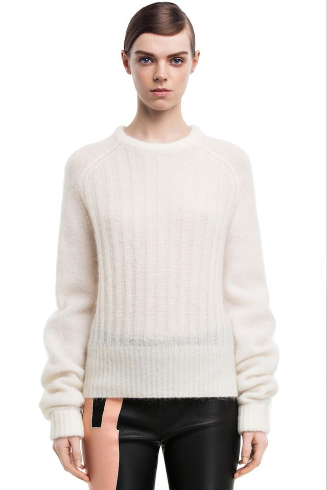 Acne Studios Dania Mohair White Sweater