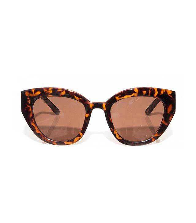 Pixie Market Tortoise Cat Sunglasses