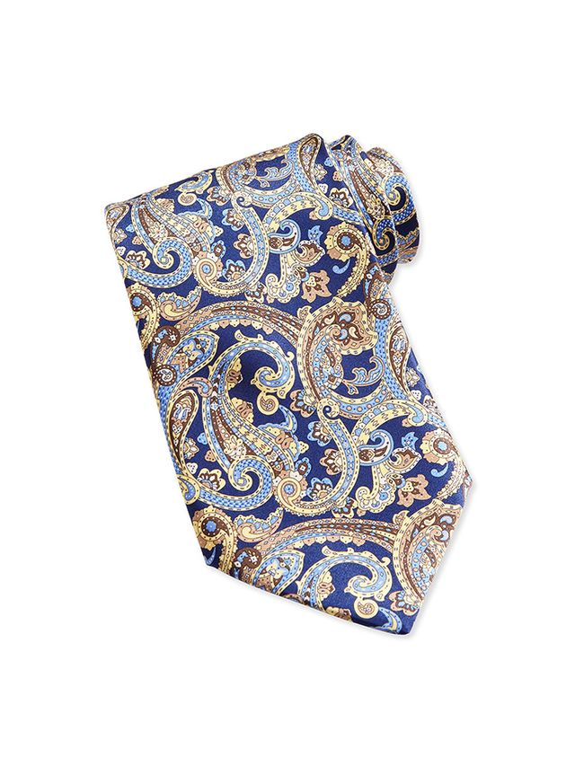 Stefano Ricci Neat Paisley Pattern Silk Tie