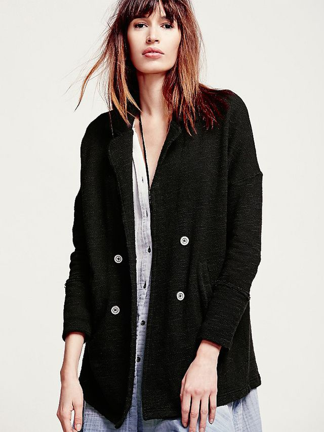 Free People Casual Friday Blazer